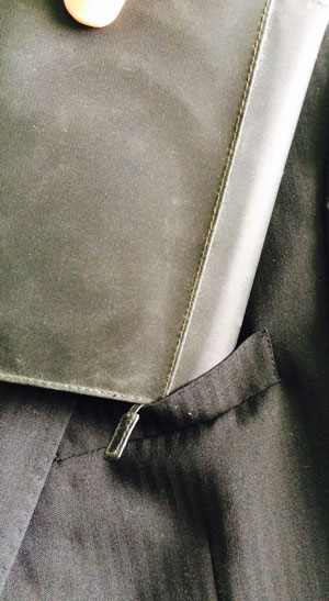 ほぼ日手帳と胸ポケット