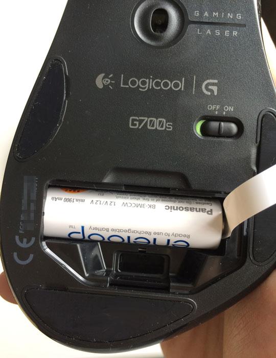 G700s 電池
