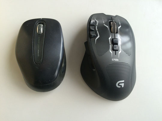 G700s 大きさ 比較