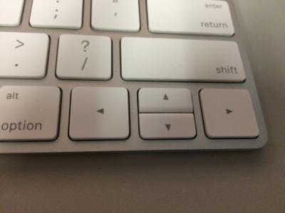 Magic Keyboard 上下キー