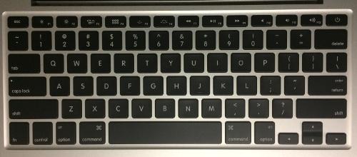 Mac USキーボード