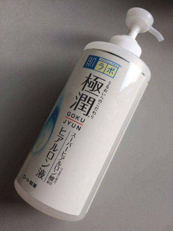 ポンプ式化粧水